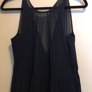 Long J Crew High neck gown size 12